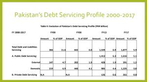 Debt Servicing Profile