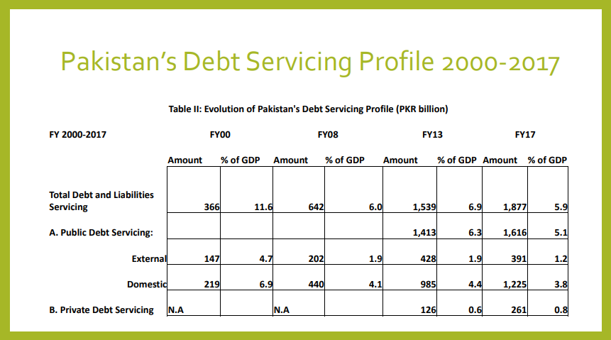 Debt Servicing Profile