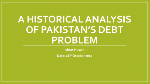 Economics of Pakistan