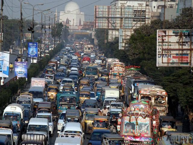 کراچی ٹریفک