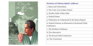 Allama Iqbal's Speech of 1930