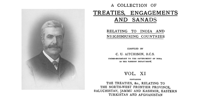 A Collection of C.U. Aitchison's Treaties Engagements and Sanads