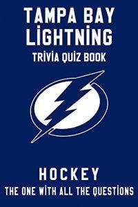 Paperback Tampa Bay Lightning Trivia Quiz Book